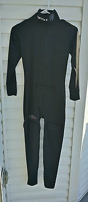 Intech Youth Hockey Underwear Longjohns Kevlar One Piece Black Size Large Junior