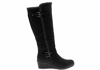 New Bellissimo New Maria Womens Wedge Knee High Boots