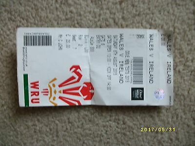 Wales V Ireland 8th August 2015. Rugby World Cup GAME!