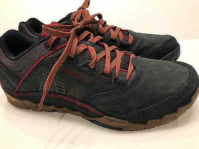 MERRELL MENS ANNEX Walking Shoe Blue Wing Size 13 (Zappos = $120)