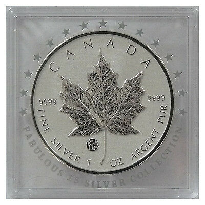 Kanada 5 Dollar 2012 Maple Leaf Fabulous Privy F15 1oz Silber