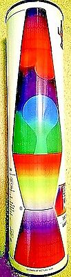 Colormax Color Changing Lava Lamp w/Multi-colored Globe & Base 14.5 in. Tall New