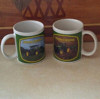 2John Deere Coffee Mugs Produced by Houston Harvest Gifts-Collectable Mug Unique