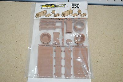 LGB/POLA 950 Assortment of Freight Items - Barrels/Pallets/Crates *G-Scale* NEW