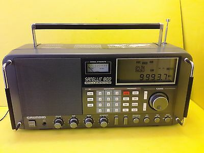 GRUNDIG SATELLIT 800 MILLENNIUM Shortwave AM/FM World Receiver