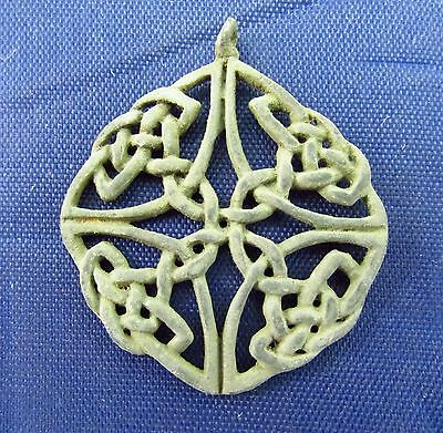 Open Work - Anglo - Saxon - Viking  Period  Pendant  9-10th Century AD (2506)