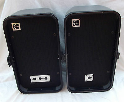 Vintage Kodak Speakers Portable Cased (Projector)