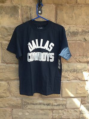 Brand New With Tags NFL Team Apparel Dallas Cowboys T-Shirt Navy Medium