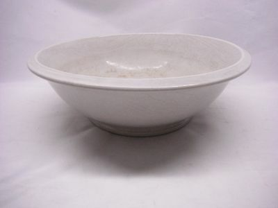 Antique Cockson & Seddon IMPERIAL Ironstone China White  Bowl EARTHENWARE