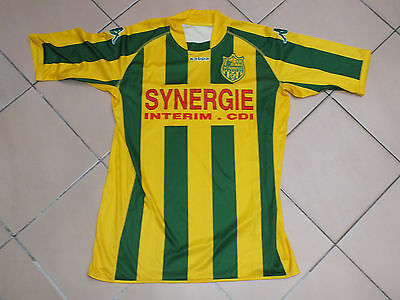 ! Maillot foot ancien vintage old shirt jersey FCN NANTES Taille XL stock pro !