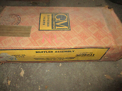 1951 1952 Chevrolet NOS muffler in original box
