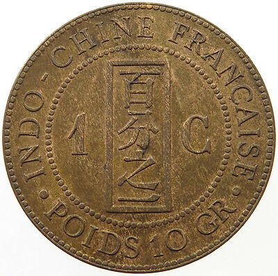 Indochina 1 Cent 1888 Top   #t20 351