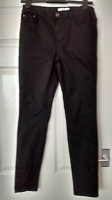 black skinny jeans size 10 New Look