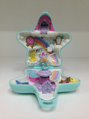 POLLY POCKET 1992 Fairy Wishing World *COMPLETE w/ GOLD LOGO VISIBLE*