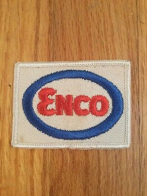 "Vintage Enco Oil Patch 3"" X 2"""