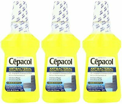 Special Antibacterial Cepacol Mouthwash 24 Oz (Pack of 5)