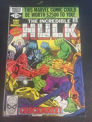 Incredible Hulk Annual#9 Incredible Condition 9.0(1980) Ditko Art!!