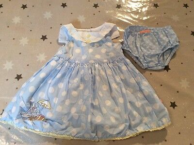 Mothercare baby girl dress and pants 0-3 months