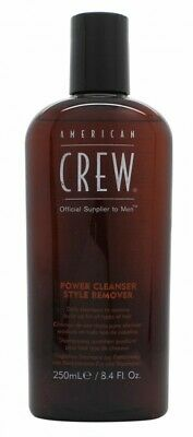 American Crew Power Cleanser Style Remover Shampoo - Men's For Him. New
