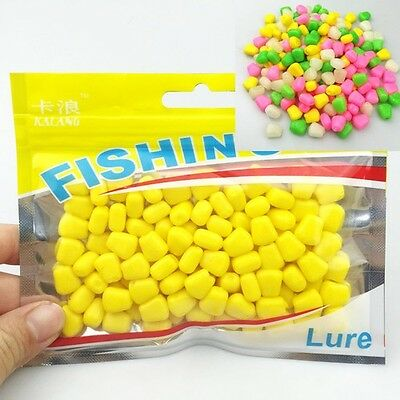 Fishing Lures Soft Baits Corn Plastic Lure With Corn Smell Carp Floating Baits