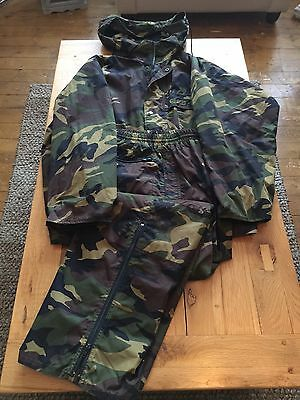 ESP Drenchwear Camo Jacket & Over trousers XL