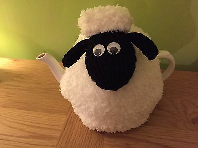 Cute Hand Knitted Woolly Sheep Tea Cosy