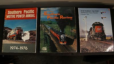 Lot of Three (3) Southern Pacific Review / Motive power Pictorials