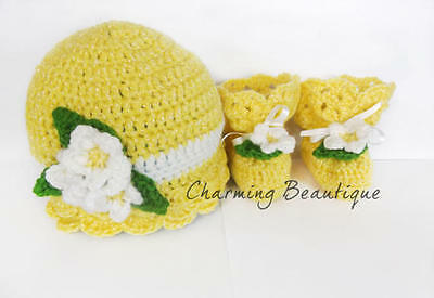Newborn set baby girl sets baby clothes baby shoes baby hat handmade babyclothes