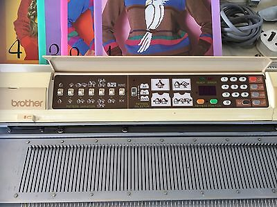 Brother 910 Knitting Machine, Lace Carriage, Lead, Front Plate Spares Or Repair