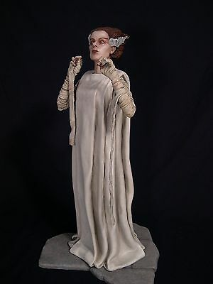 """Monster  """"the Bride 1/4 Scale Resin Kit 20"""" Tall W/base (Yagher Sculpt)"""