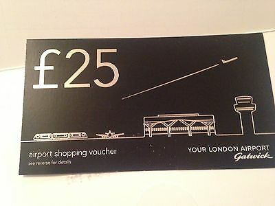 £25 Voucher for Gatwick Airport