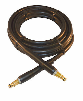 10m RUBBER High Pressure Power Washer Hose 250bar for KARCHER K Series NS/NS