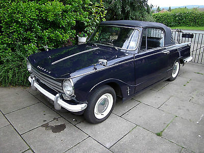 TRIUMPH HERALD 13/60 CONVERTIBLE 1968. Now Relisted, excellent condition £4,995.