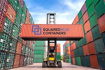 Shipping Containers - CSC Plated - wind and waterproof - LEEDS