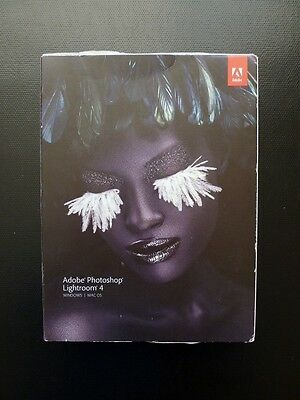 Adobe Photoshop Lightroom 4 Boxed DVD Windows/PC Full UK Retail 65164947 NEW