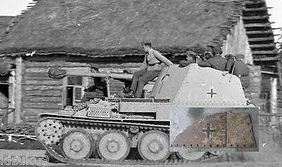 WWII German 2 Part of armor Marder III Ausf. M