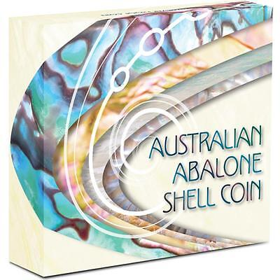 Silver coin 2014 $1 Australian Abalone Shell 1oz PROOF