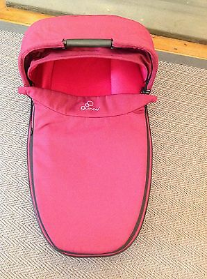 Quinny Foldable Carrycot for Buzz Xtra Moodd Speedi - Pink Passion