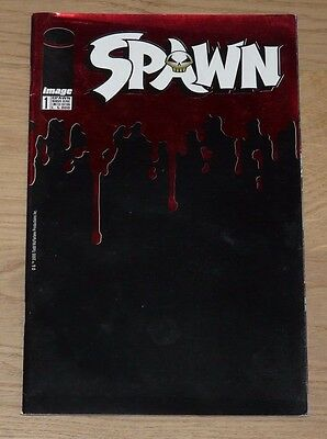 Spawn Nuova Serie N°1 Blood Variant - Limited Edition Panini