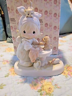 1983 ~ Precious Moments This Is Your Day To Shine #e-2822 Retired W/box