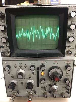 Vintage HP Oscilloscope 180A with Manual