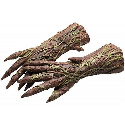 Groot Costume Hands Adult Gloves Guardians of The Galaxy Fancy Dress