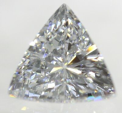 0.07 Carat F Color SI1 Triangle Natural Loose Diamond For Jewelry 2.77X2.63mm