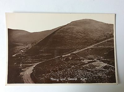 vintage postcard, Glossop, Mossy Lea, real photo, Sneath