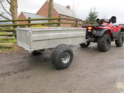 Tipping trailer ATV Quad bike, compact tractor