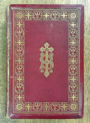 Book of Common Prayer 1845 London John Murray Illuminated Signed Letter Leather