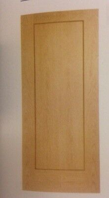 """OAK VENEER INTERNAL DOORS IN WRAPPER SIZE 2'9"""" Only COLLECTION ONLY READ DETAILS"""