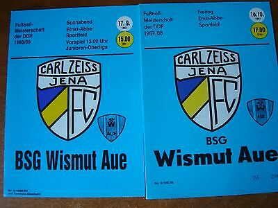 Carl Zeiss Jena V Wismut Aue Oct 1987