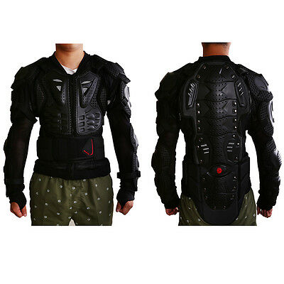 Racing Full Body Motorcycle Armor Jacket Chest Guard Protective Gear Motocross