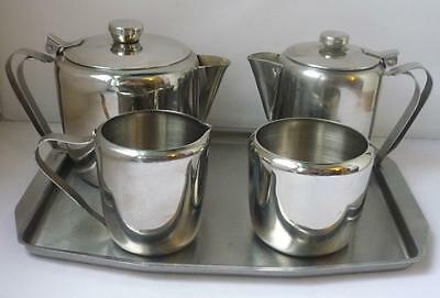 Tea Set 18.8 stainless steel 50's